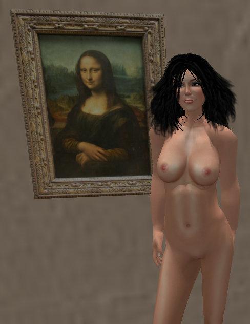Monalisa Nude Image