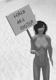 femen idiots b&w