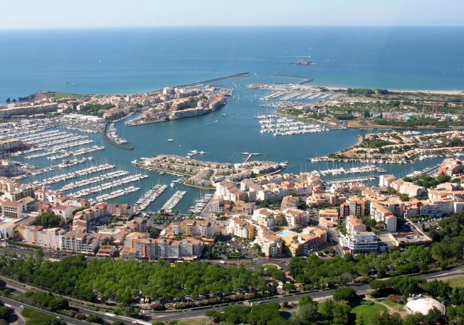 Cap d'Agde , le port