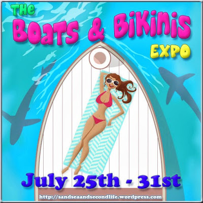Official Boats & Bikinis Expo Sign