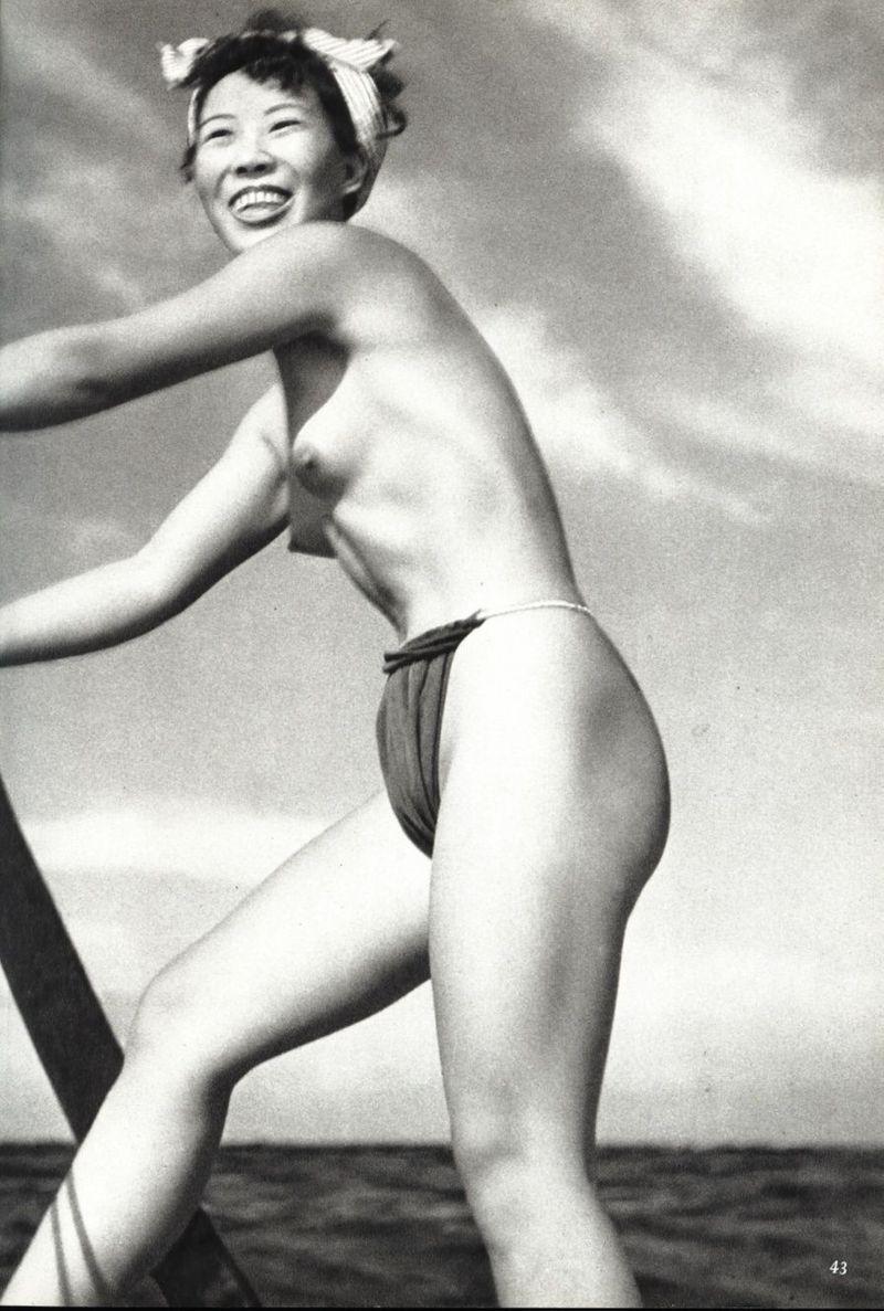 naked pearl divers japan