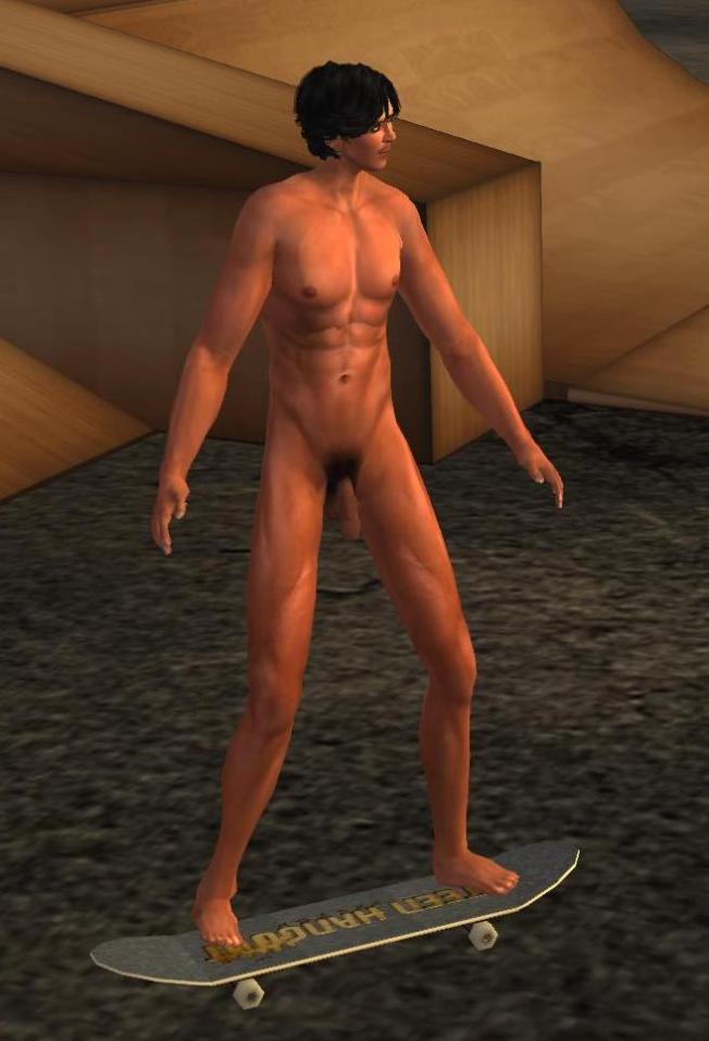 don naked skateboard_001b