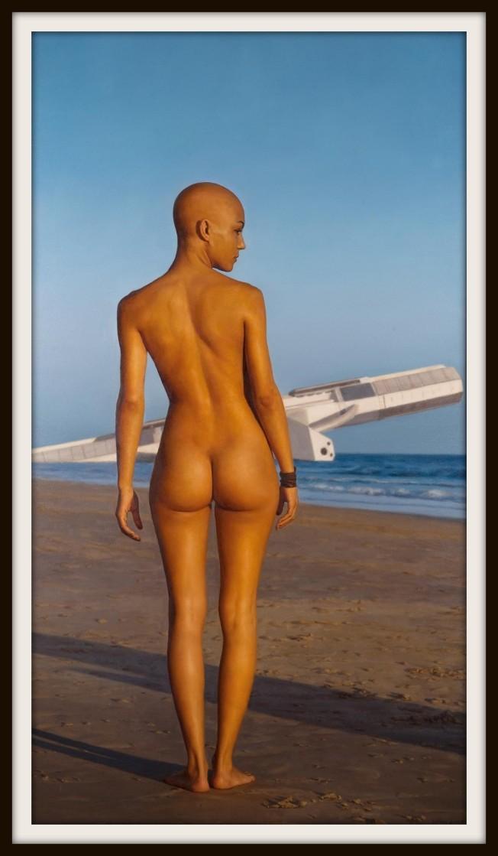bald womanb