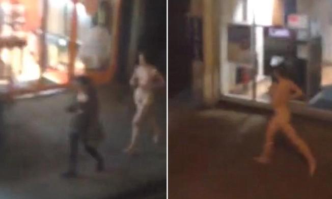 Naked Jogger