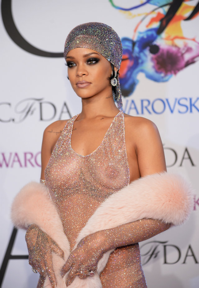 rihanna-cfda-naked-dress