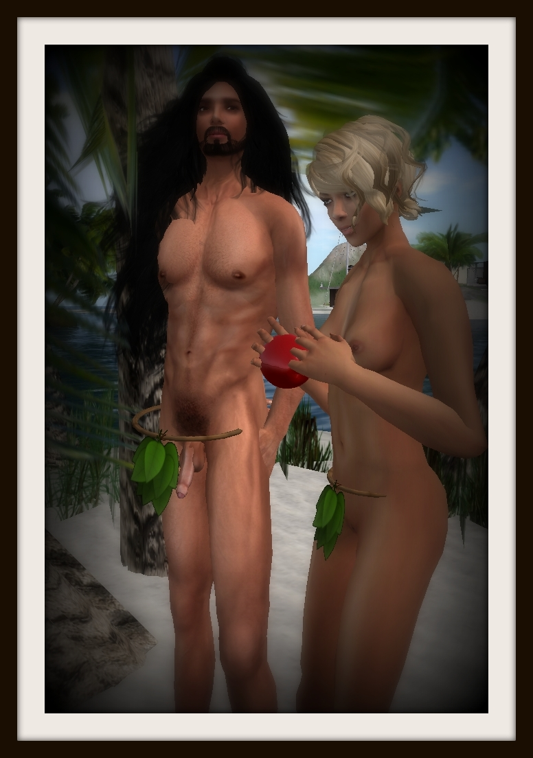Adam and eve the first fuck 6