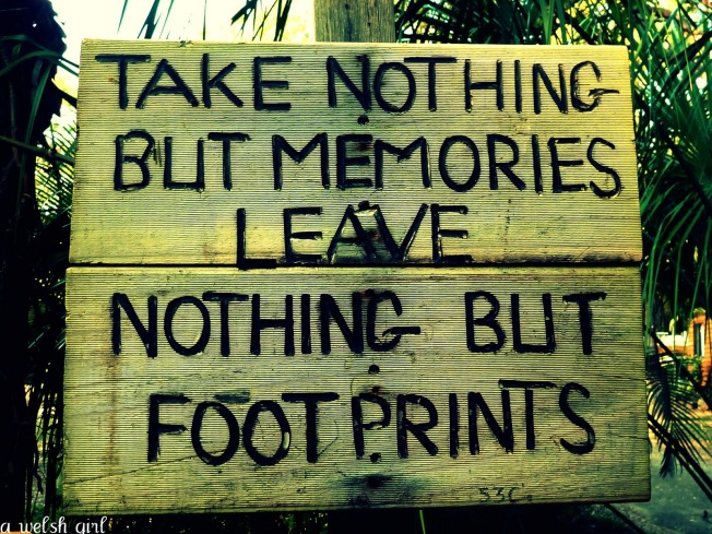 memories plaque