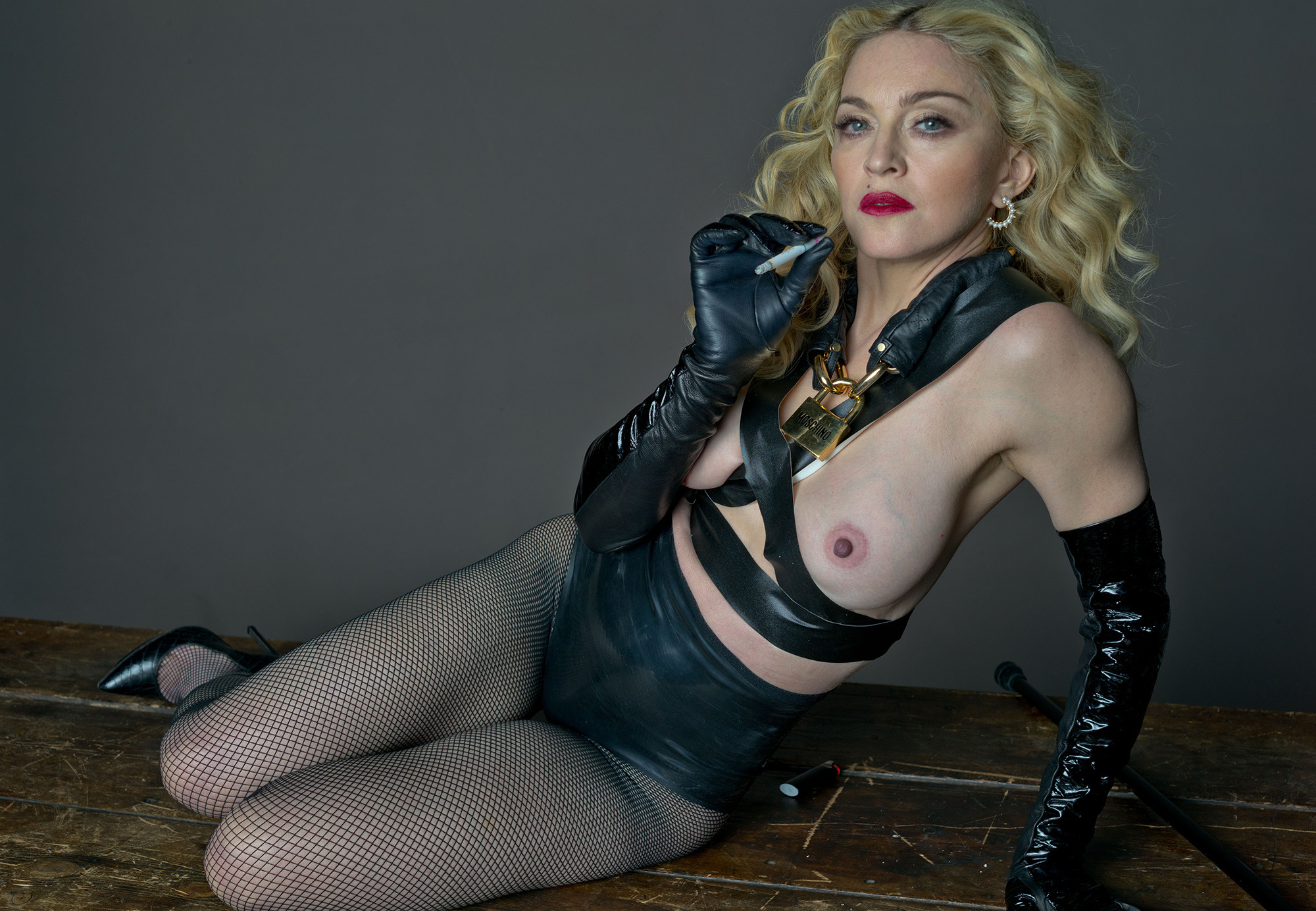 madonna s never been afraid to use her own body as a marketing tool