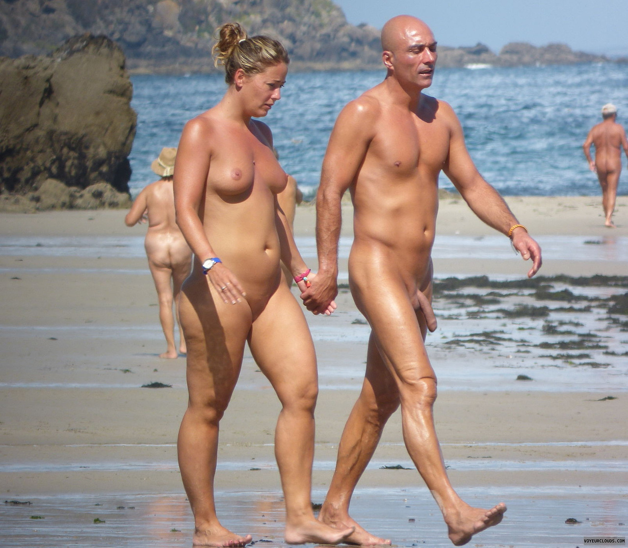 Beach nude mature-5840