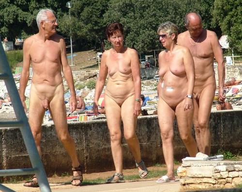 Nude asian senior citizens