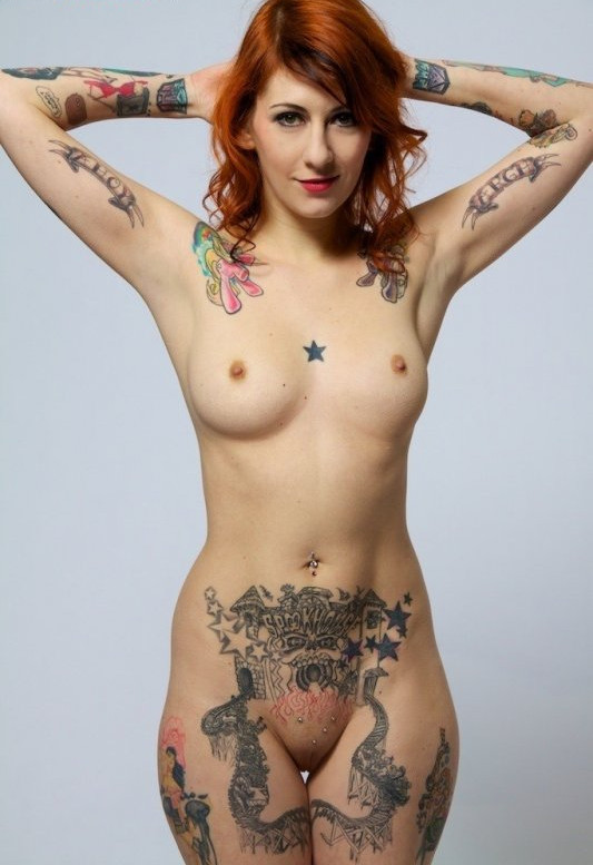 Nude Tattoo Women 50