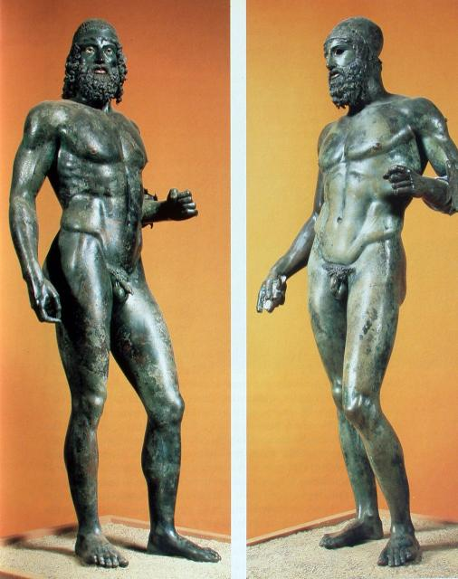 20. Warriors from Riace, c.460-50 BC, slightly over lifesize.preview