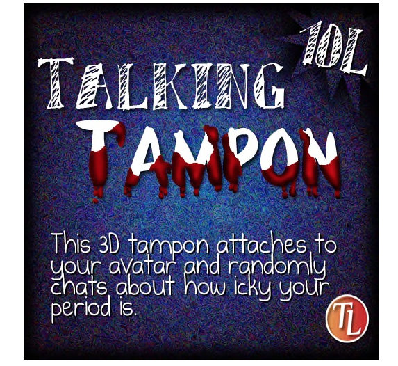 talking tampon