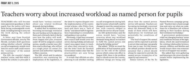 Herald-teachers-worried