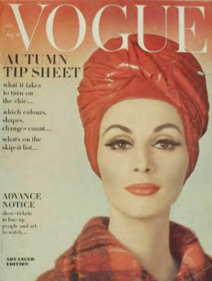 vogue 1965 turban