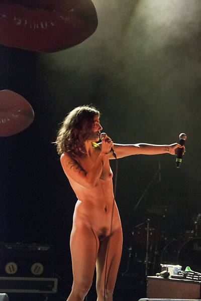 Female singers topless