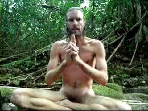Male meditation nude — img 2