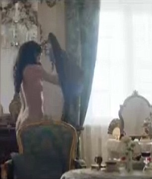 War and Peace BBC Episode 3 Pictured Tuppence Middleton plays Helene Kuragina in bed with Aneurin Barnard plays Boris Drubetskoy a young army officer Credit BBC Grabbed from Preview site for Christopher Hastings