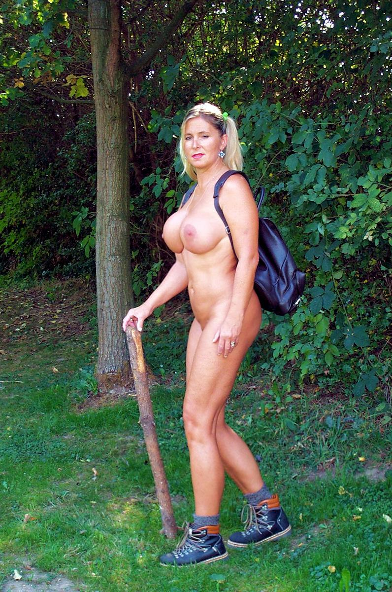 Naked Hill Walking  The Sl Naturist-3341