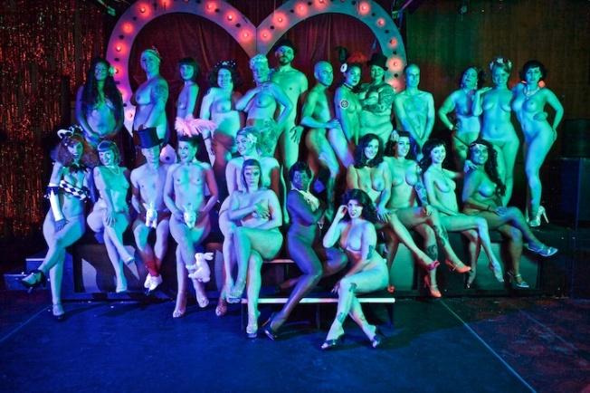 All Nude Cabaret Calendar 2016 Photos by Sin Bozkurt©