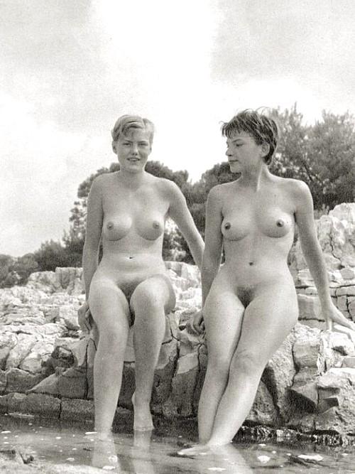 Vintage nudist photos