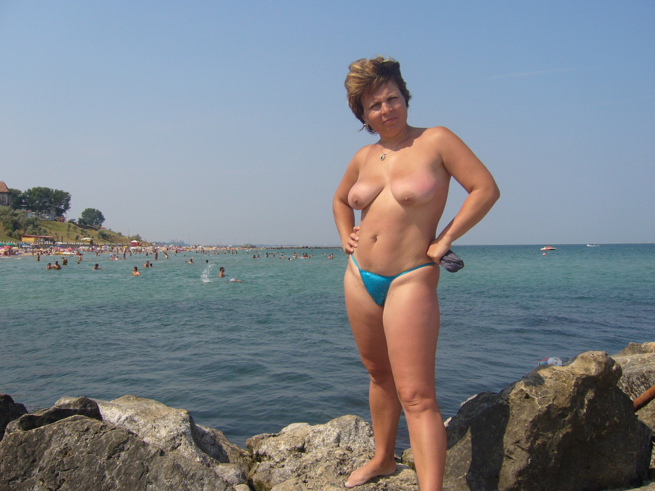 Time beach first wife nude