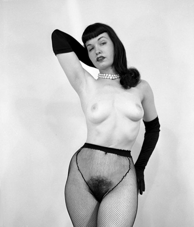 Bettie page nude pussy