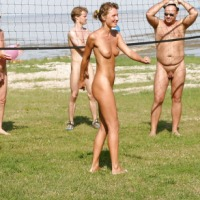 Nudist idea #66: Play volleyball naked