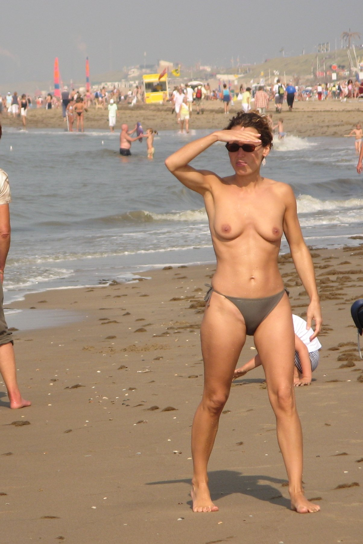 Topless beach europe