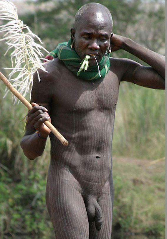 Обнаженные Мальчики Африканских Племен