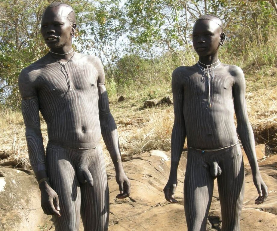 Native african men nude apologise, but