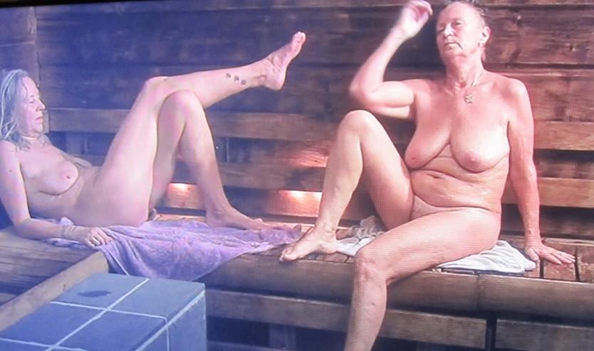 Sauna women swedish