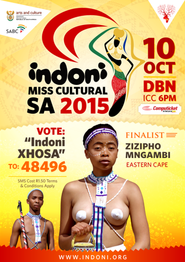 Indoni-MISS-CULTURAL-SA-2015-Xhosa-Queen-Zizipho-Mngambi