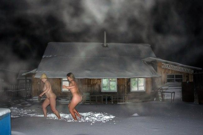 My First Time  The Finnish Sauna  The Sl Naturist-2435