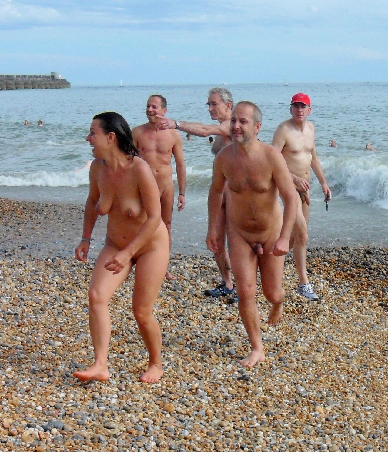 Naked photos sailing voyeur man