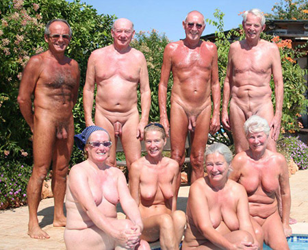 Right About Now I Could Name The Person Who Sent Me An Email Expressing Disquiet About Larger Sized Or More Mature Naturists Featured On These Pages